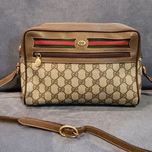 Vintage Gucci Ophidia GG Monogram Canvas Bag